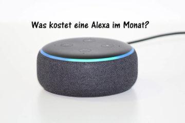 Was kostet eine Alexa im, Monat?