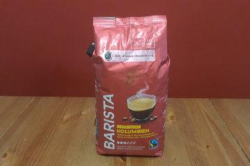 Barista Caffe Crema Kolumbien